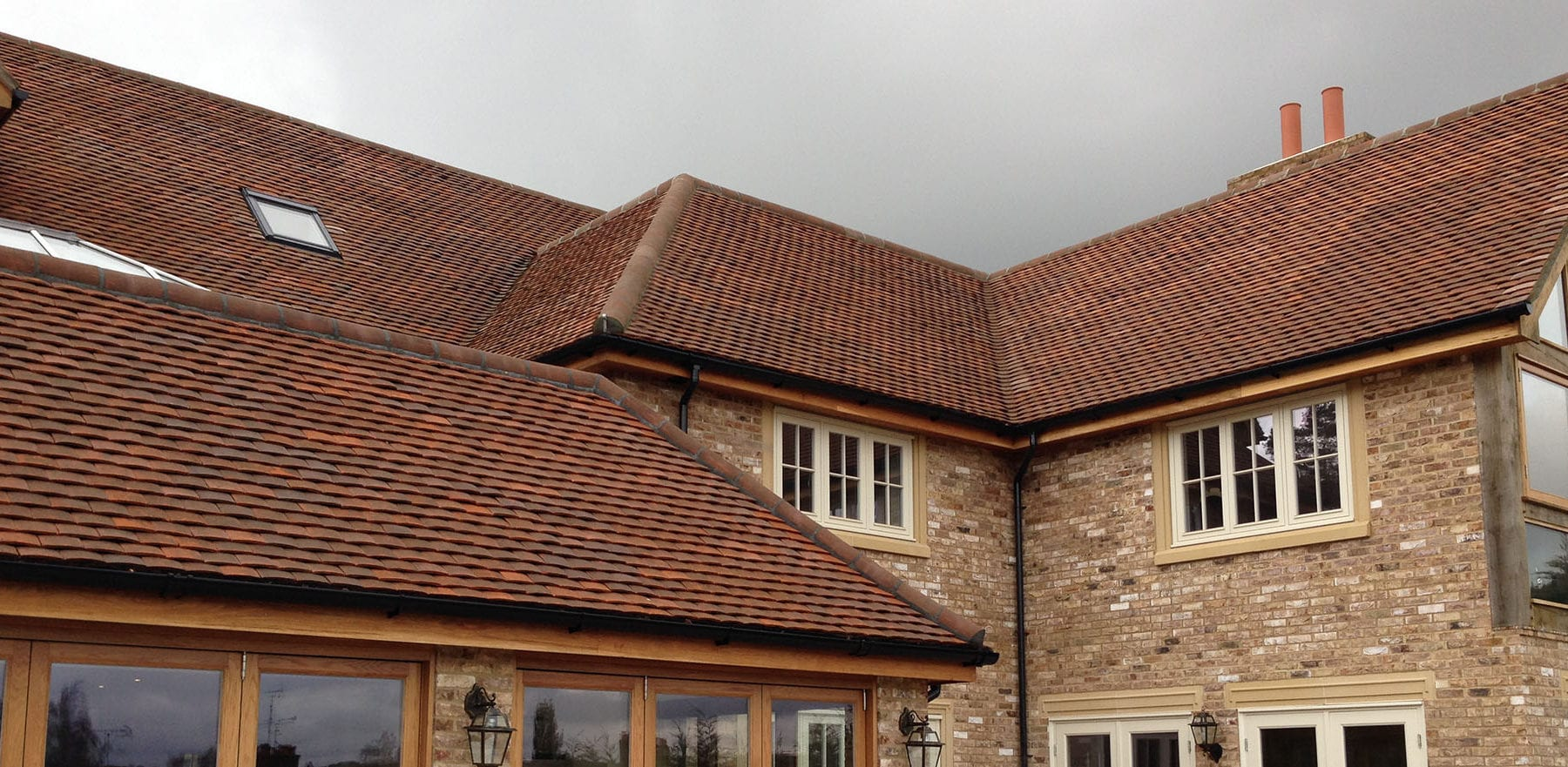 Lifestiles - Handmade Brown Clay Roof Tiles - Sunningdale, England 5