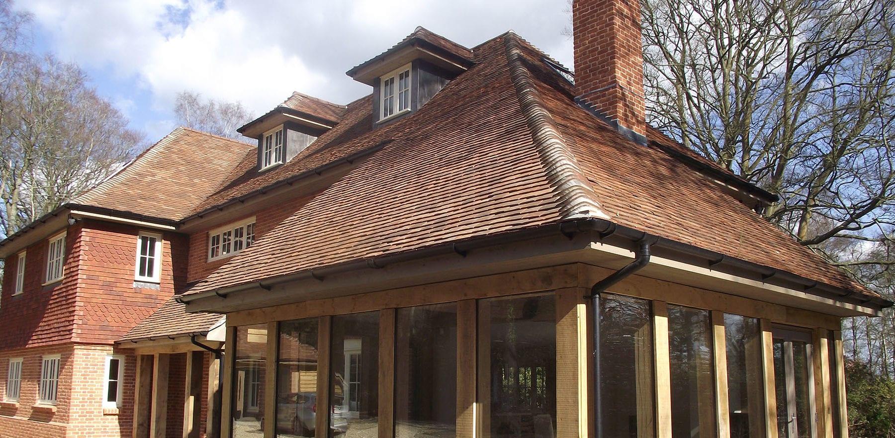 Lifestiles - Handmade Brown Clay Roof Tiles - Romsey, England 6