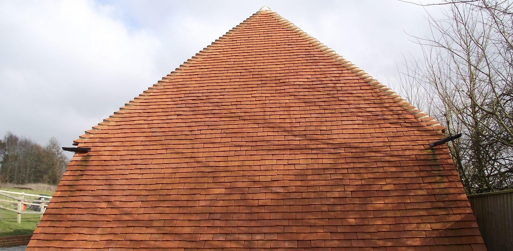 Lifestiles - Handmade Orange Clay Roof Tiles - Baughurst, England 9
