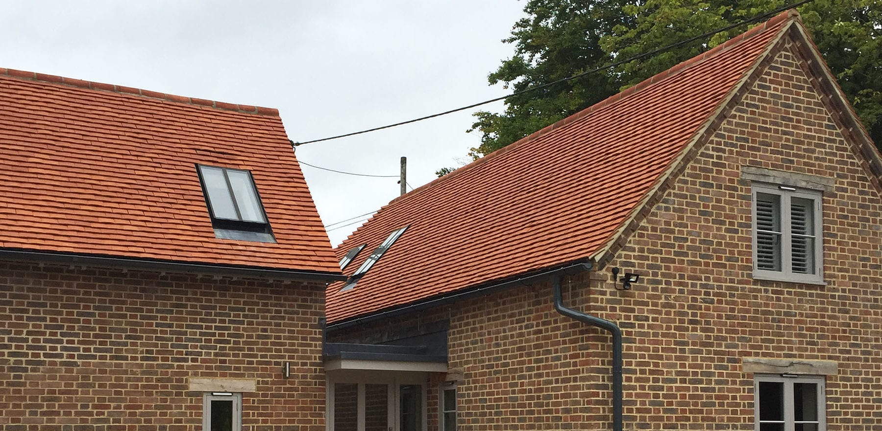 Lifestiles - Handcrafted Orange Clay Roof Tiles - Aston, England 5