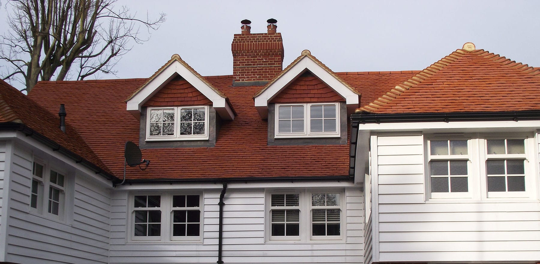 Lifestiles - Handcrafted Orange Clay Roof Tiles - Farningham, England 5