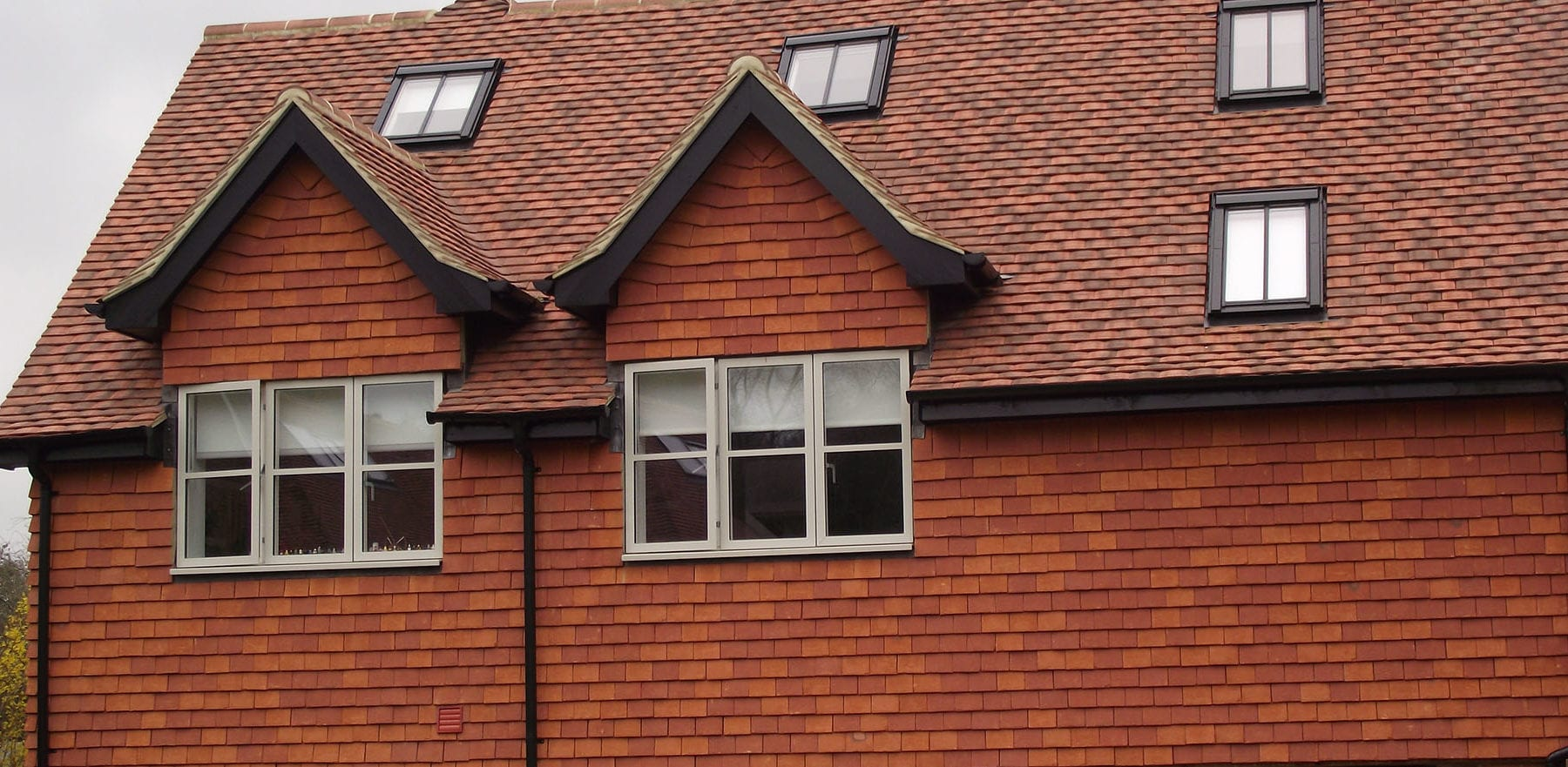 Lifestiles - Handcrafted Orange Clay Roof Tiles - Liss, England 5