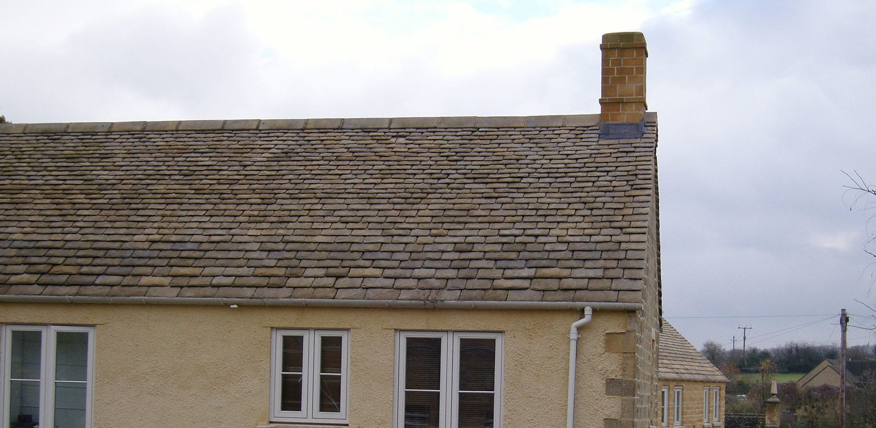 Lifestiles - Natural Stone Aged Roof Tiles - Cirencester, England 5