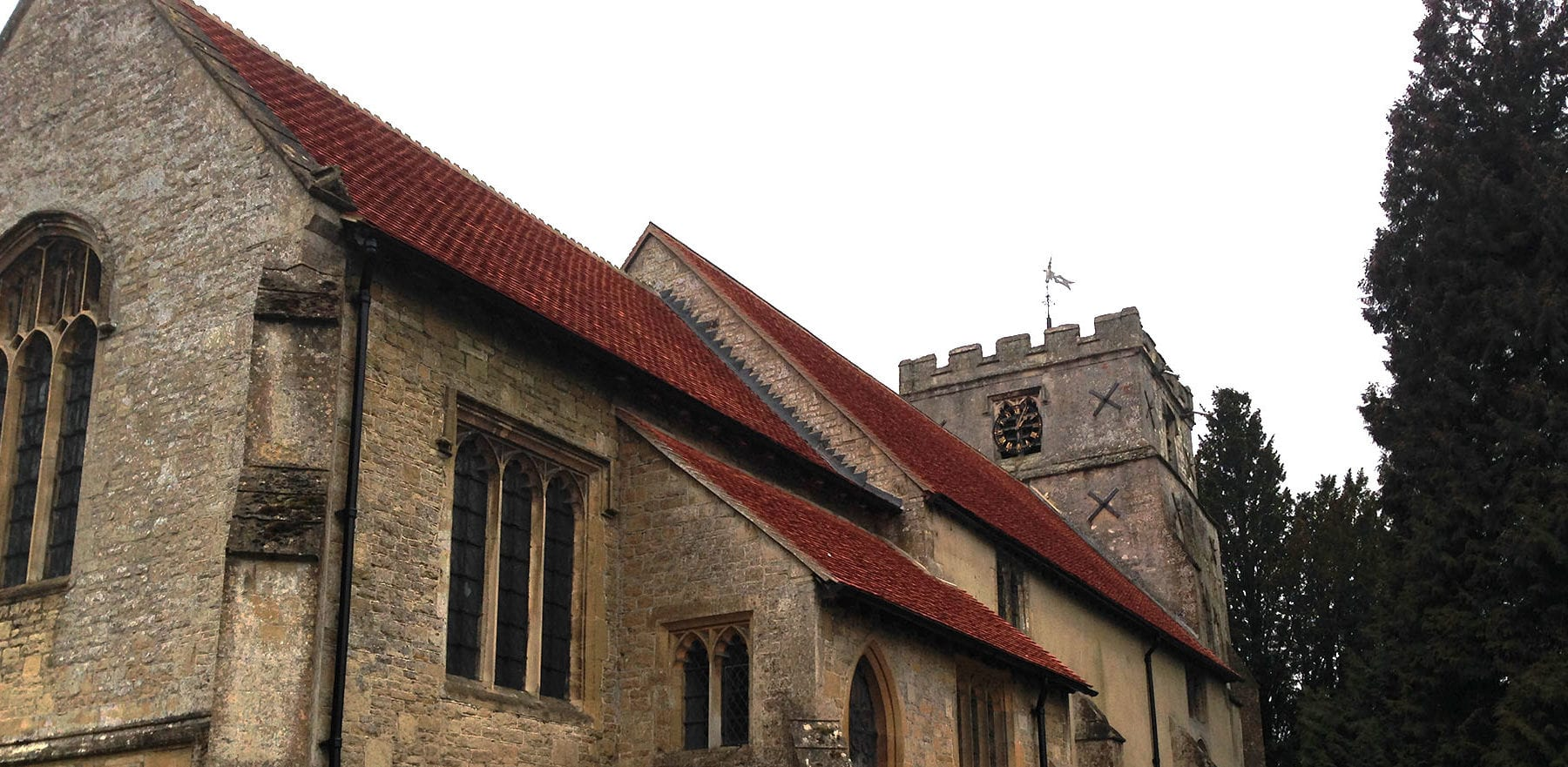 Lifestiles - Handcrafted Orange Clay Roof Tiles - Letcombe, England 6