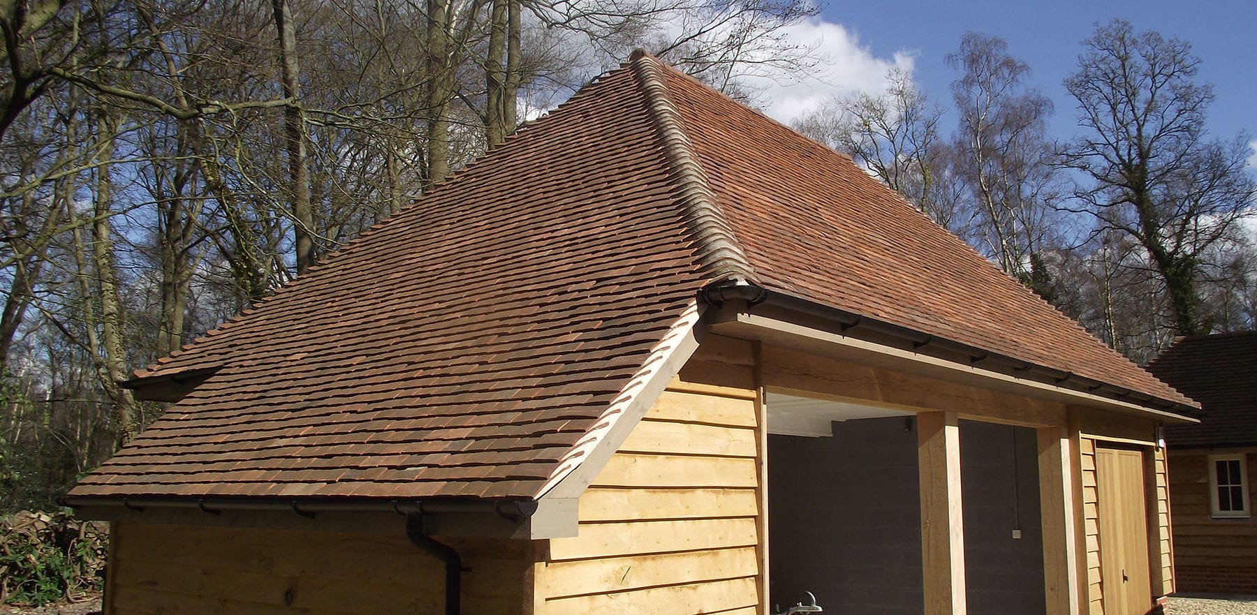 Lifestiles - Handmade Brown Clay Roof Tiles - Romsey, England 7