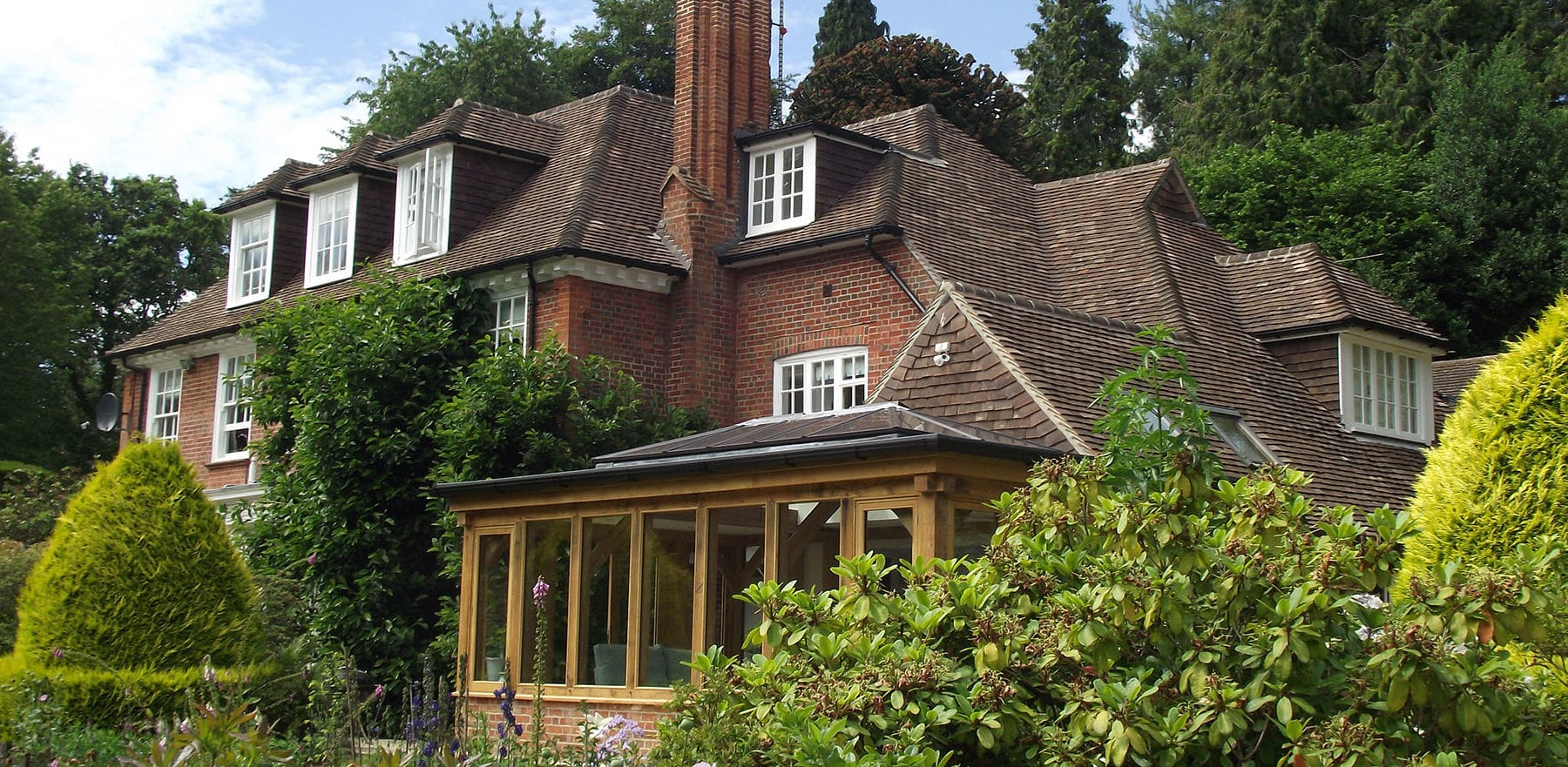 Lifestiles - Handmade Restoration Clay Roof Tiles - Farnham, England 7