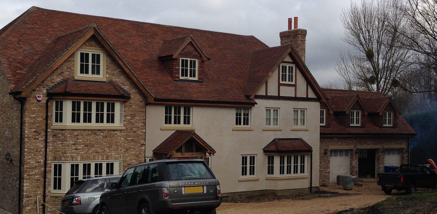 Lifestiles - Handmade Brown Clay Roof Tiles - Sunningdale, England 6