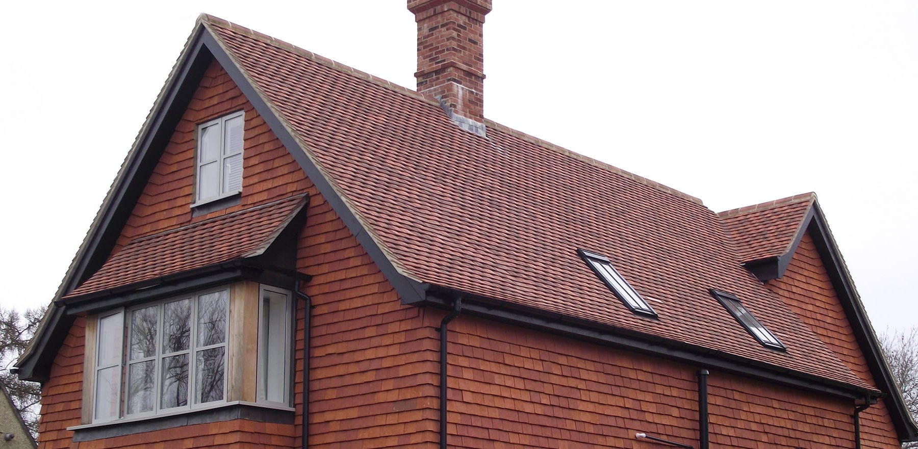Lifestiles - Handcrafted Orange Clay Roof Tiles - Liss, England 7