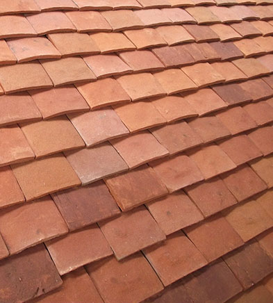 Lifestiles - Handcrafted Orange Clay Roof Tiles