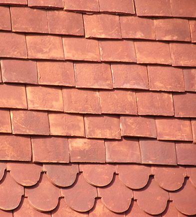 Lifestiles - Handmade Red Clay Roof Tiles