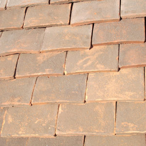 Brown Roof Tiles | Handmade Brown Clay Roof Tiles