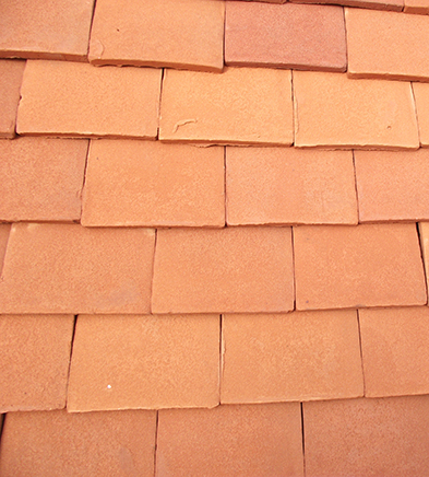 Lifestiles - Handmade Orange Clay Roof Tiles