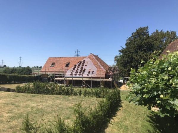 Toppesfield Vineyard Tiling