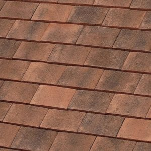 machine made normandy sandfaced clay roof tile
