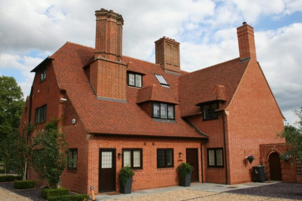 Burgundy Clay Roof Tiles