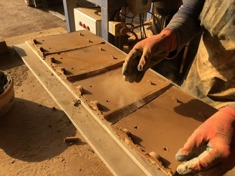 Finising Woburn Handmade Clay Roof Tiles
